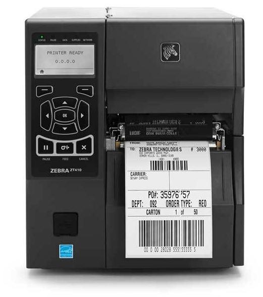 Принтер штрих-кода для печати этикеток  Zebra ZT410