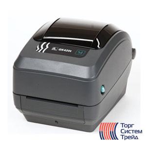 Принтер штрих-кода для печати этикеток Zebra GK420t