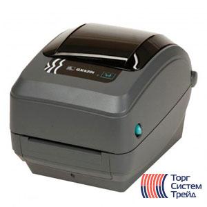 Принтер штрих-кода для печати этикеток Zebra GX420t