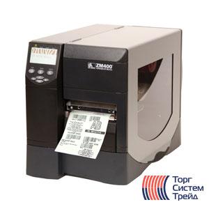 Принтер штрих-кода для печати этикеток Zebra ZM400