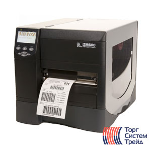Принтер штрих-кода для печати этикеток Zebra ZM600